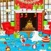Коледа почистване страна игра