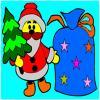 игра Рождество окраски