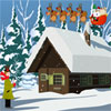 Noël neige demeure Escape jeu