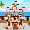 Torta de Castillo de chocolate juego