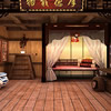 Dormitorio clásico chino Escape juego