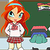 Chibi Bloom School Girl game