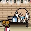Kerst Make-A-scène in het winkelcentrum spel