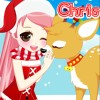 Christmas Girl Loves Reindeer game