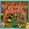 Коледно дърво азбука игра