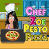Chef Zoe - Pesto Pizza game