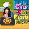 игра Шеф-повар Zoe - пиццы соусом песто