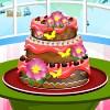 Csokoládé torta-szeretője játék