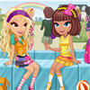Chic School Girls Dressup game