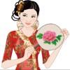 Chinois Cheongsam beauté jeu