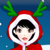 Christmas Girl Dressup game