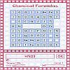 Formules chimiques jeu