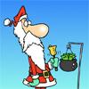 Karácsonyi adományok színező oldal játék