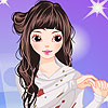 Chloe fille Dress up jeu