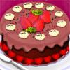 Шоколадова торта декорация игра