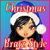 игра Рождество стиле Bratz