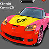 Chevrolet Corvette Z06 Coloring game