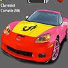 Chevrolet Corvette Z06 Coloring spel