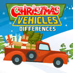 Christmas Vehicles Differences game