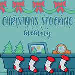 Christmas Stockings Memory game