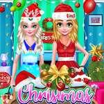 Kerst decor spel