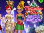 Pomul de Crăciun Inspirat Coafuri joc