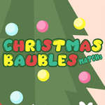 Christmas Baubles Match 3 game