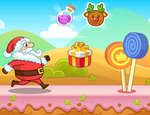 Christmas Santa Claus Rush game
