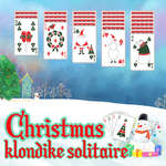 Christmas Klondike Solitaire game