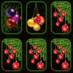 Christmas Ornaments Memory game