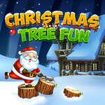 Коледно дърво забавно игра