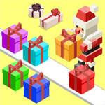 Karácsonyi ajándék vonal játék