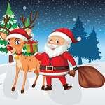Trenes de Navidad juego