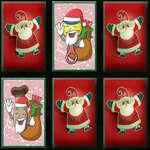 Het Geheugen van de Mascottes van Kerstmis spel