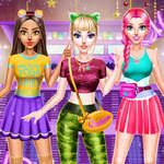Cheerleader Dergisi Elbise oyunu