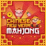 Chinesisches Neujahr Mahjong Spiel