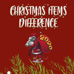 Christmas Items Differences game