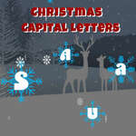 Christmas Capital Letters game