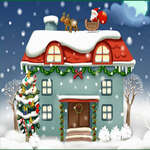 Diferențe camere de Crăciun joc