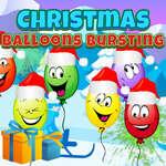 Globos de Navidad estallando juego