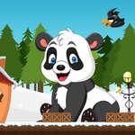 Aventure panda de Noël jeu