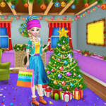Christmas Tree Decoration and Dress Up game