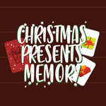 Noël présente la mémoire jeu