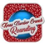 Weihnachtszahlen-Crunch-Rundung Spiel