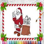 Libro para colorear de Navidad juego
