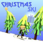 Vianočné lyže hra