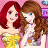 Cinema Girls Dress Up game