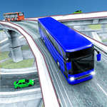 City Bus Racing Game spel