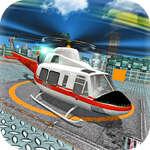 Vuelo en helicóptero de la ciudad juego