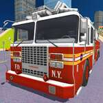 City Fire Truck Rescue Spiel